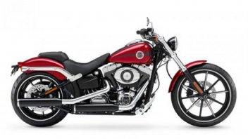 Moto - News: Harley-Davidson 2013: Softail Breakout e Dyna Street Bob