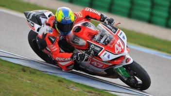 Moto - News: STK: Barrier (BMW) davanti alle Ducati