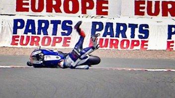 Sachsenring: allarme Lorenzo, altra caduta