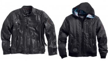 Moto - News: Harley-Davidson Motorclothes: Collezione Black Label Fall & Holiday 2013