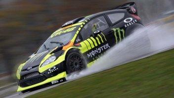 Rossi svela la sua Ford WRC per Monza