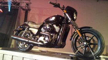 Moto - News: EICMA 2013 - Harley-Davidson Street 750 e 500 2014: le prime foto
