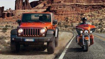 Moto - News: Harley-Davidson e Jeep insieme nel 2014