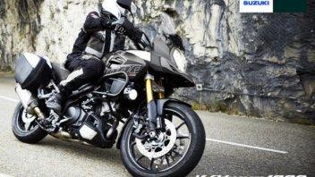 Moto - News: Suzuki propone la V-Strom senza compromessi