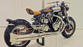 Matchless Model X Reloaded: eccola!
