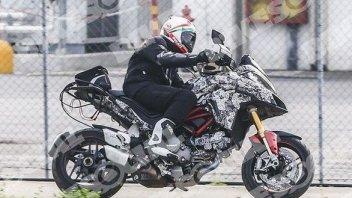 Ducati Multistrada DVT, si affinano i dettagli