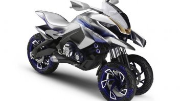 Yamaha 01GEN: in arrivo la moto a tre ruote
