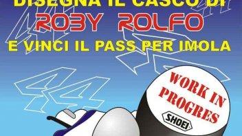Moto - News: Disegna il casco di Rolfo e vinci Imola