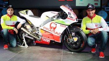 Pramac: una Ducati tricolore per Petrucci