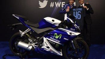 Asta benefica per la YZF-R125 firmata da Rossi