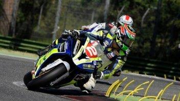 Moto - News: CIV: Tamburini super, Pirro out e titolo in bilico