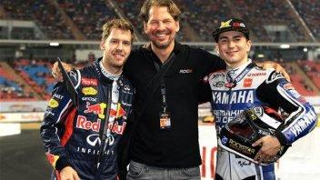 Lorenzo sfida Vettel alla Race of Champions
