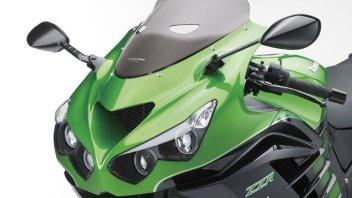 Kawasaki, frenata Brembo per la ZZR1400 my'16
