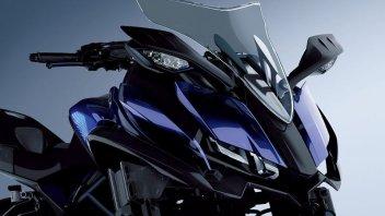 Yamaha presenta a Tokio la MWT-9