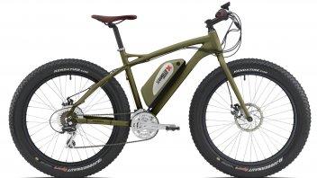 Ducati mostra una Scrambler Fat e-Bike