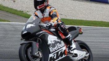 Debutto in pista per la MotoGP di KTM