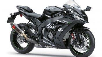 Moto - News: Kawasaki, arriva ZX-10R Winter Edition