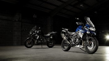 Triumph Tiger Explorer: due anime, sei vite