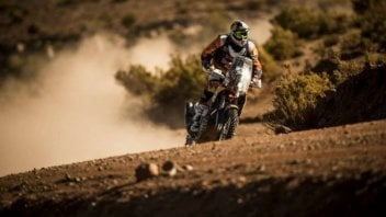 Dakar 2016: Meo più forte della pioggia