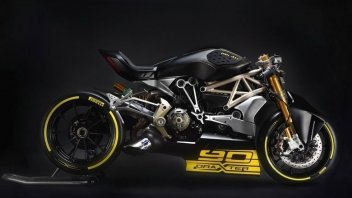 Moto - News: Ducati, la grinta della draXter al Motor Bike Expo