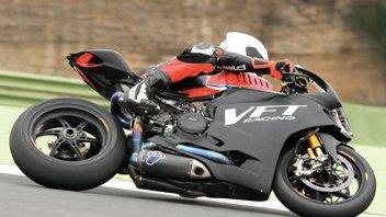 Fabio Menghi in SBK con la Ducati