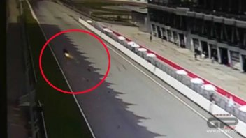 Loris Baz horror crash a 250 Km/h
