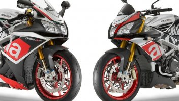 V4 Face the Race: Aprilia regala un Akrapovic