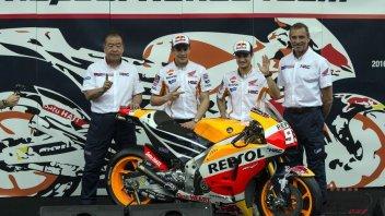 Honda svela le RC213V di Marquez e Pedrosa