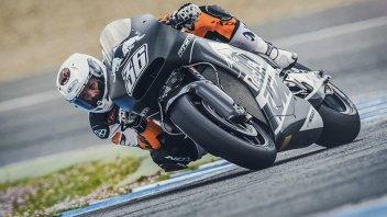 Test: KTM gioca con tre punte a Jerez