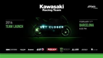 La presentazione Kawasaki in streaming
