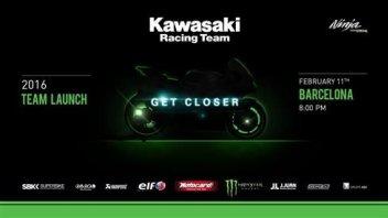 La presentazione Kawasaki in streaming