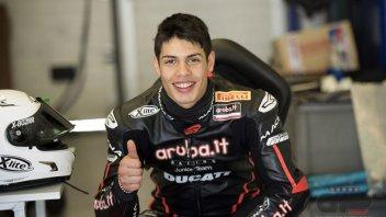 Rinaldi debutta nella Stock 1000 con Aruba Junior