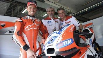 Stoner migliore Ducati, in pista anche il 3° giorno