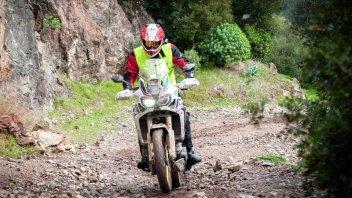 Avventure in Sardegna con l'Africa Twin