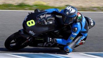 Test Jerez: Bulega di un soffio su Antonelli