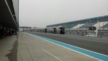 Test Jerez: la nebbia guasta i piani