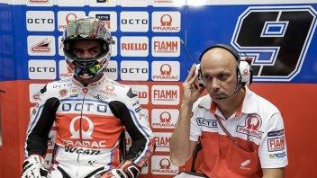 GP del Qatar finito per Danilo Petrucci