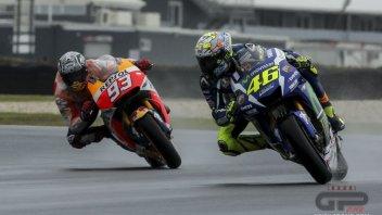 Rossi vs Marquez: sfida a colpi di freni