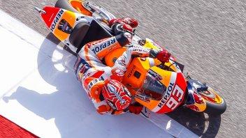 FP1: Marquez, prova di forza su Lorenzo