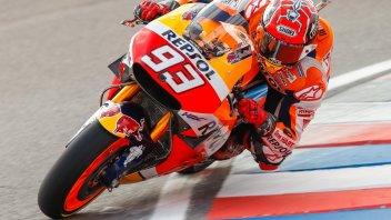 Trionfo Marquez, Ducati regala il podio a Rossi