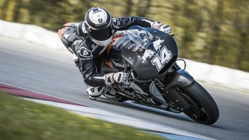 Il freddo rallenta i test KTM a Brno