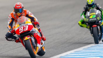 WUP: Marquez e la Honda piegano Rossi