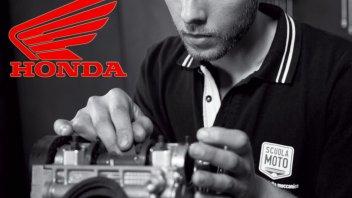 """Honda Italia e Scuolamoto: corso per """"Meccanico Riparatore"""""""