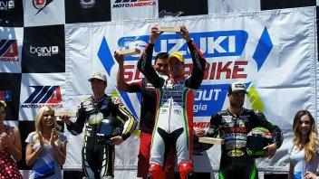 MotoAmerica: Claudio Corti sogna l'America e... vince!