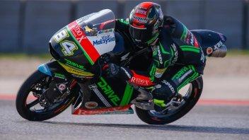 Moto3, FP3: Kornfeil all'attacco, Antonelli secondo