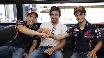 Marquez: Rossi e Vinales? Sembra si siano parlati