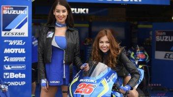 Iannone e Rins, Suzuki pensa al dopo Viñales