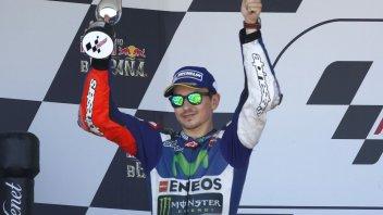 Lorenzo e Pedrosa in scia a Rossi per i podi in MotoGP
