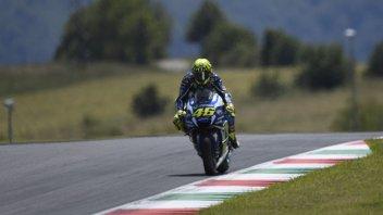 Valentino Rossi best 'late braker' at Mugello