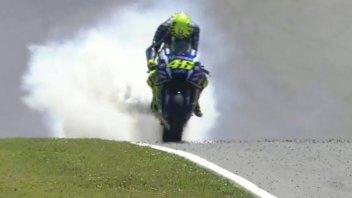 La Yamaha tradisce Valentino Rossi al Mugello